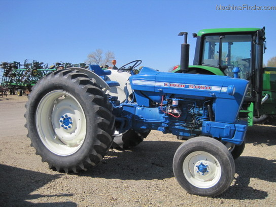 Ford 5000 Tractor Controls : Ford