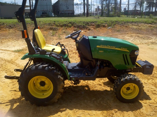 2007 john deere 2320 hst tractors compact 1 40hp. Black Bedroom Furniture Sets. Home Design Ideas