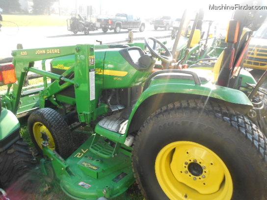 John Deere Turf Tractor Tires : John deere mfwd loader mid mower turf tires