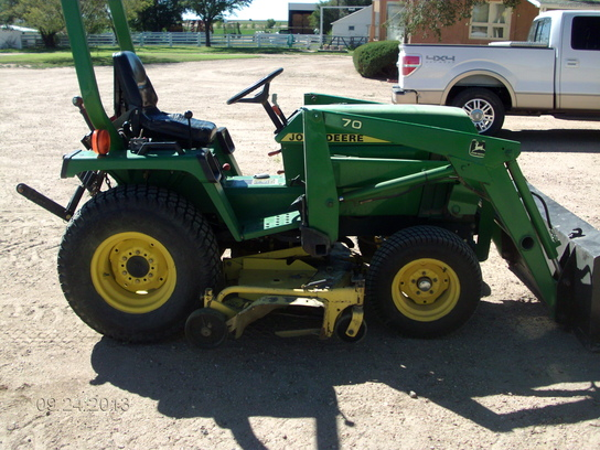 1997 john deere 755 tractors compact 1 40hp john deere machinefinder. Black Bedroom Furniture Sets. Home Design Ideas