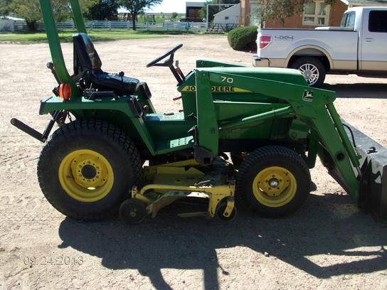 1997 john deere 755 tractors compact 1 40hp john deere machinefinder. Black Bedroom Furniture Sets. Home Design Ideas