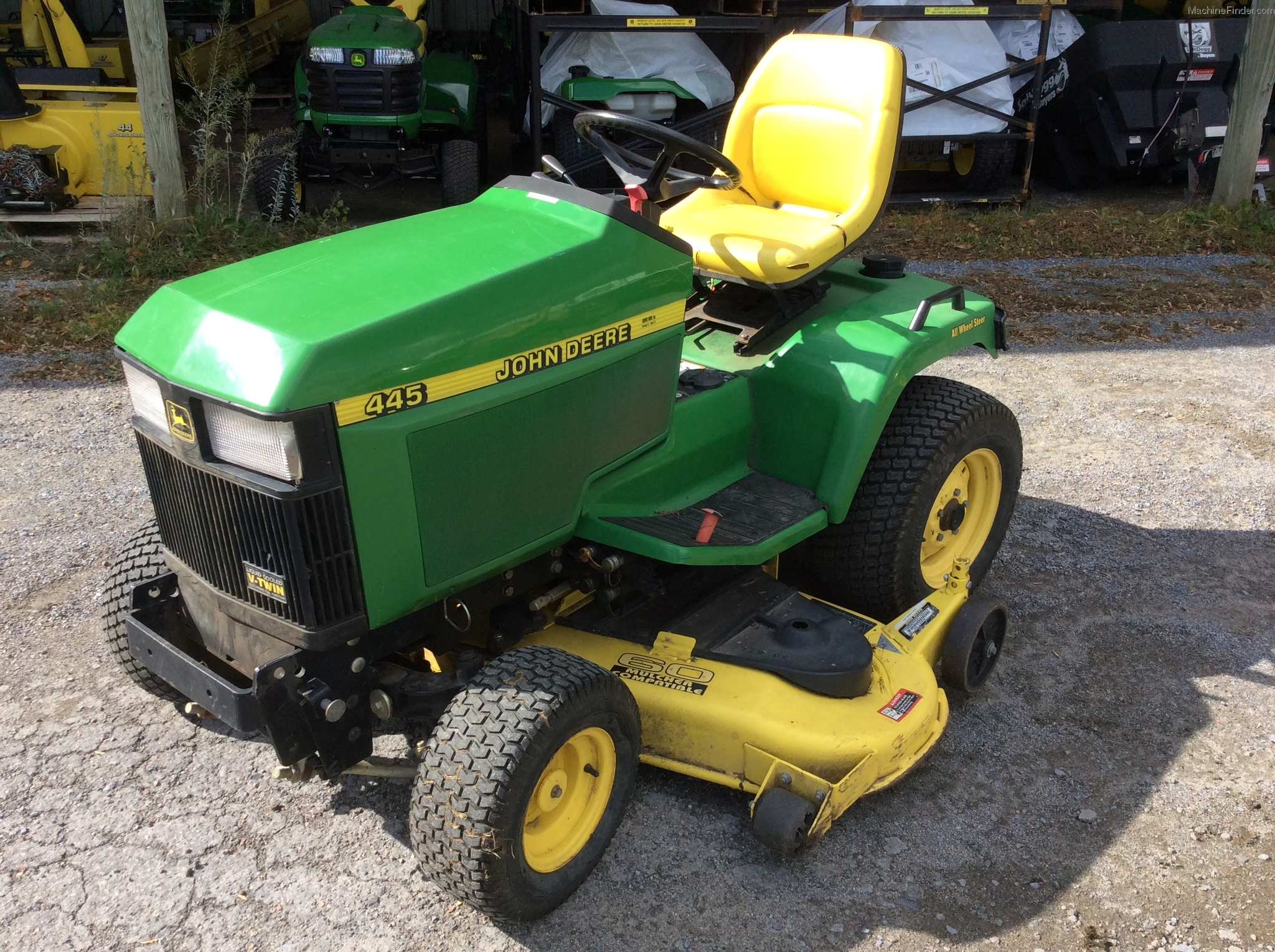 1999 john deere 445 lawn garden and commercial mowing john deere machinefinder for Bairs lawn and garden