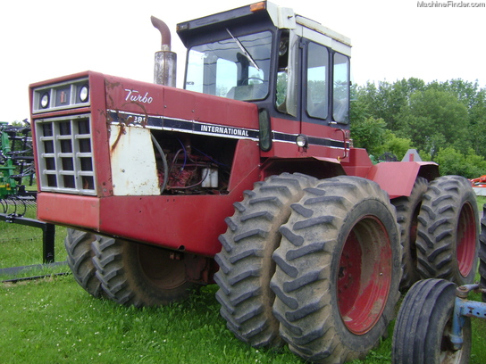International Harvester 4386 Articulated 4wd Tractors
