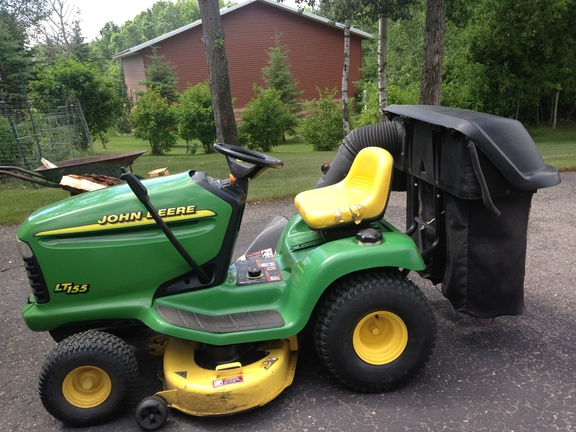 1999 john deere lt155 garden tractors ebay. Black Bedroom Furniture Sets. Home Design Ideas