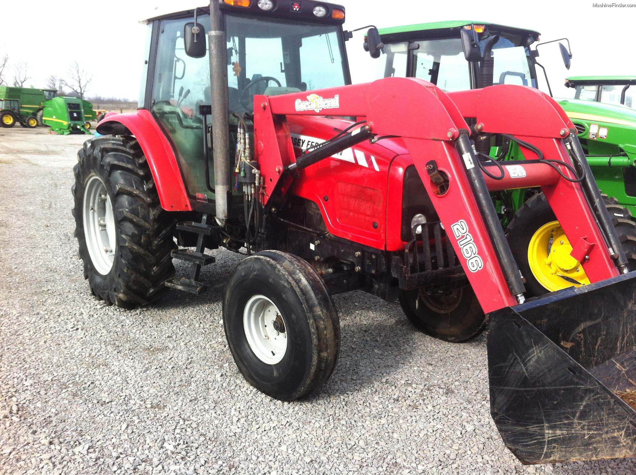 2005 Massey - Ferguson 5455 Tractors - Utility (40-100hp) - John Deere MachineFinder