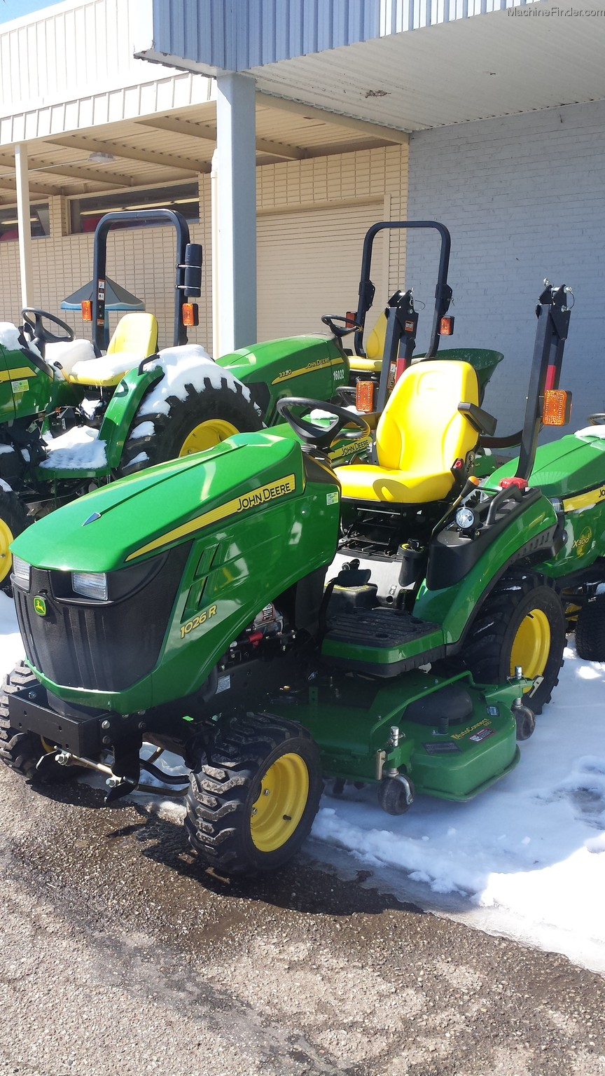 2012 john deere 1026r tractors compact 1 40hp john deere machinefinder. Black Bedroom Furniture Sets. Home Design Ideas