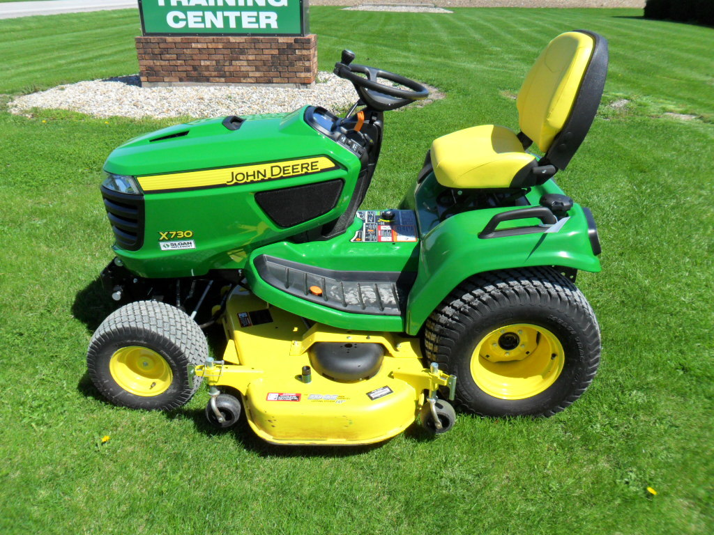 John deere x730 for Garden machinery for sale