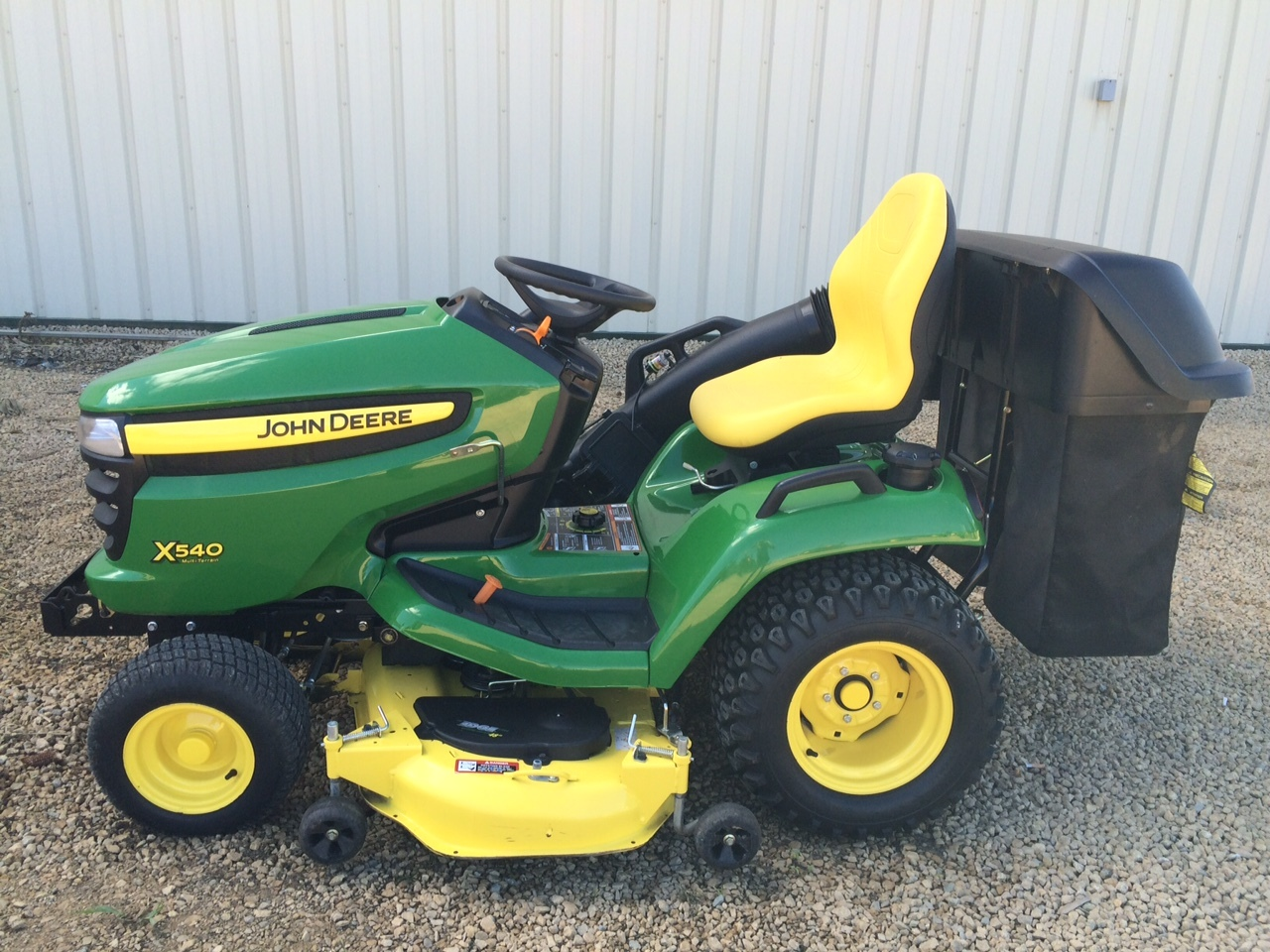 John deere x540 lawn garden tractors for sale 50023 for Lawn and garden implements