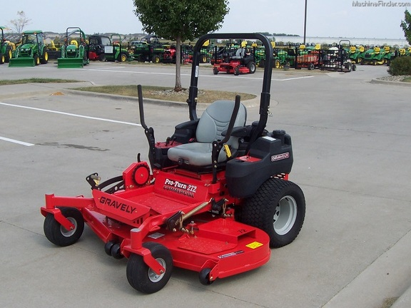2013 Gravely Proturn 272 Zero Turn Mowers John Deere