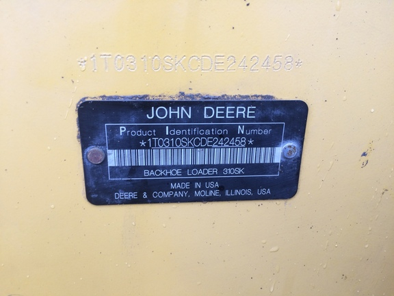 Detail photo of 2013 John Deere 310SK from Construction Equipment Guide