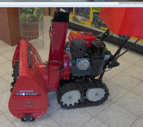 2010 Honda HS1132 (Walk Behind) Snow Blower