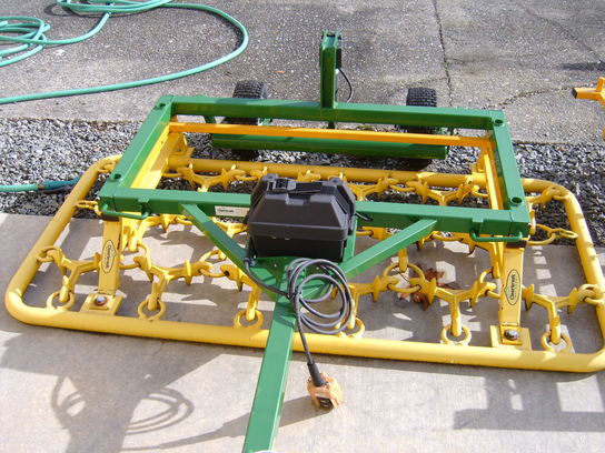 CLEARBROOK 400MF MAIN FRAME WITH ATTACHMENTS