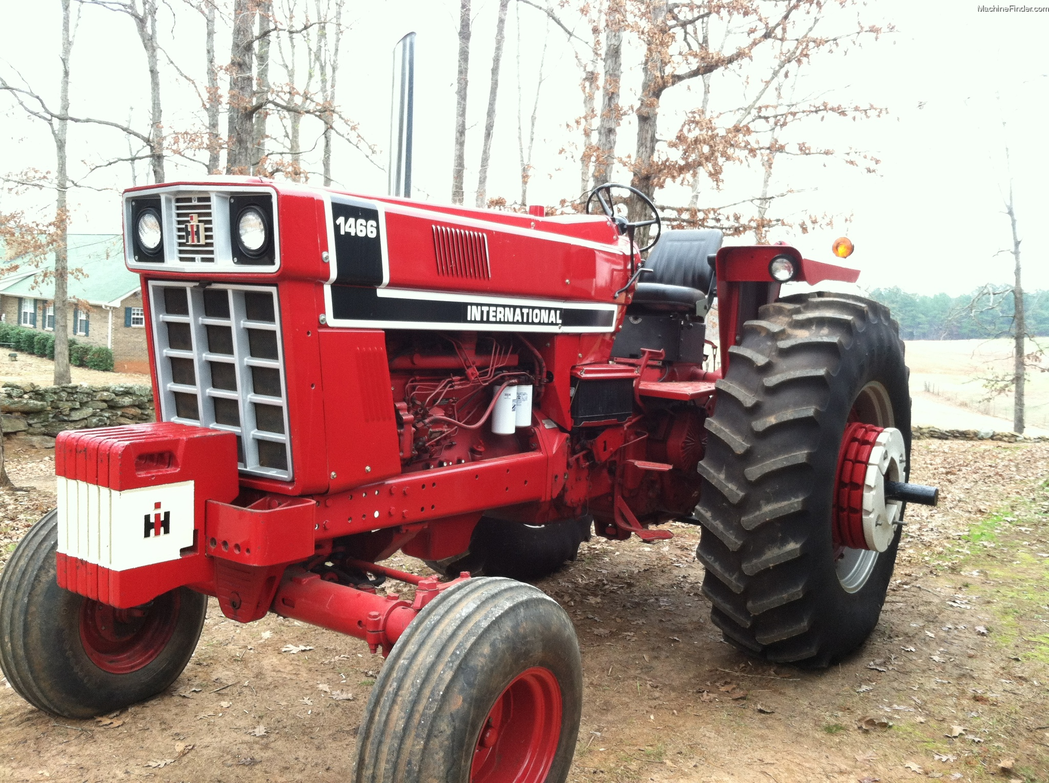 International 1466 Pulling Tractor : Ih tractor bing images