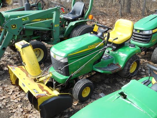 John Deere Utv >> 2002 John Deere LX277 - Lawn & Garden Tractors - John Deere MachineFinder