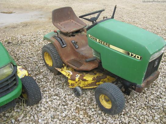 John deere 170 lawn Tractor Manual