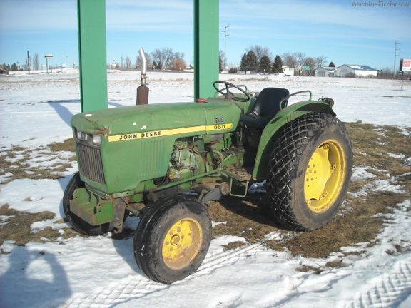 John Deere 950 Tractor Seat : John deere wd tractors ebay