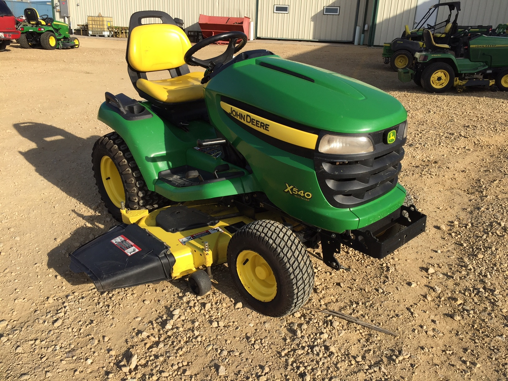John Deere Garden Tiller : John deere lawn garden tractors for sale