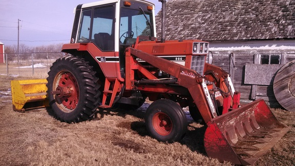 International Harvester 986 Tractor : International harvester tractors ebay