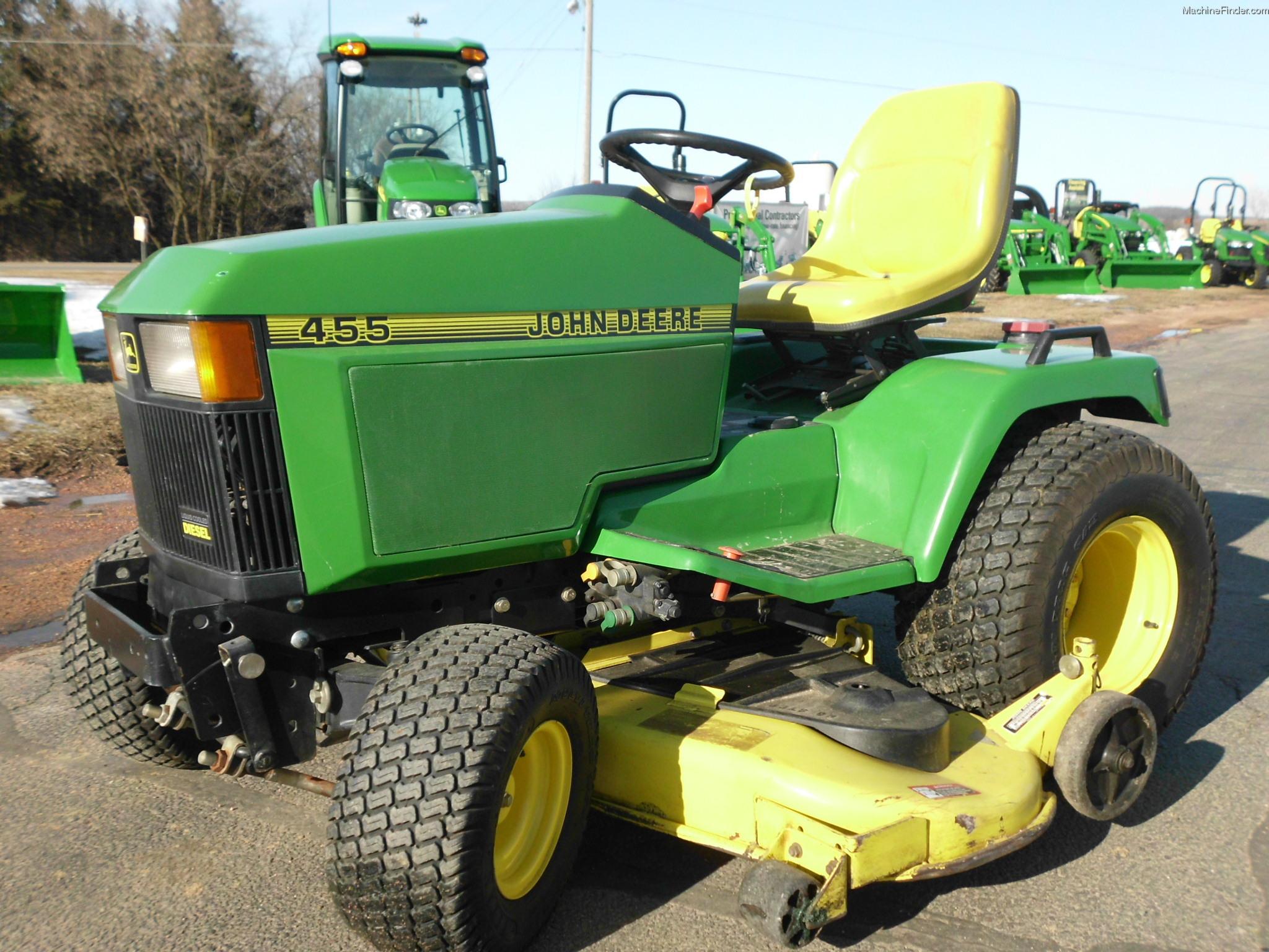 John Deere 455 Mower Parts : Used farm agricultural equipment john deere machinefinder