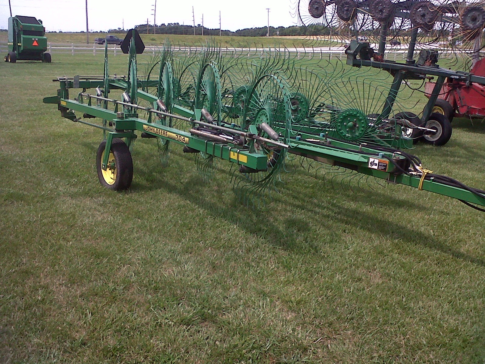 John Deere 851 Hay Rake : Jd hay rake pictures to pin on pinterest thepinsta