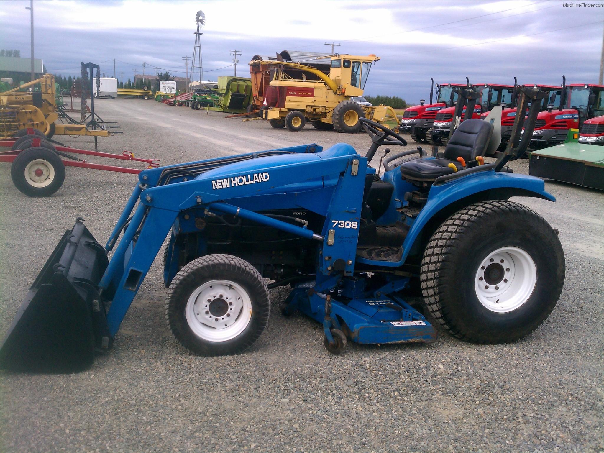 New Holland Compact Tractors Parts : New holland tractors compact hp john