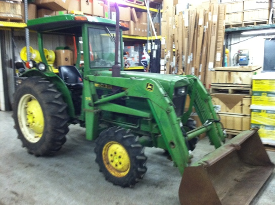 John Deere 1050 Tractor Seat : John deere front loader car interior design