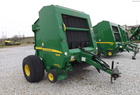2007 John Deere 568 ROUND BALER HYD PICKUP BIG TIRES CLEAN