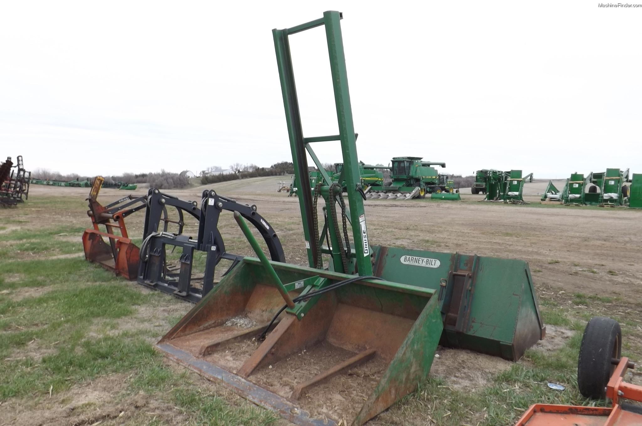 Tractor Bucket Hoist : Gnuse hs high lift bucket tractor loaders john deere