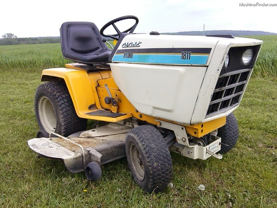 1988 Cub Cadet 1811 Lawn Amp Garden And Commercial Mowing