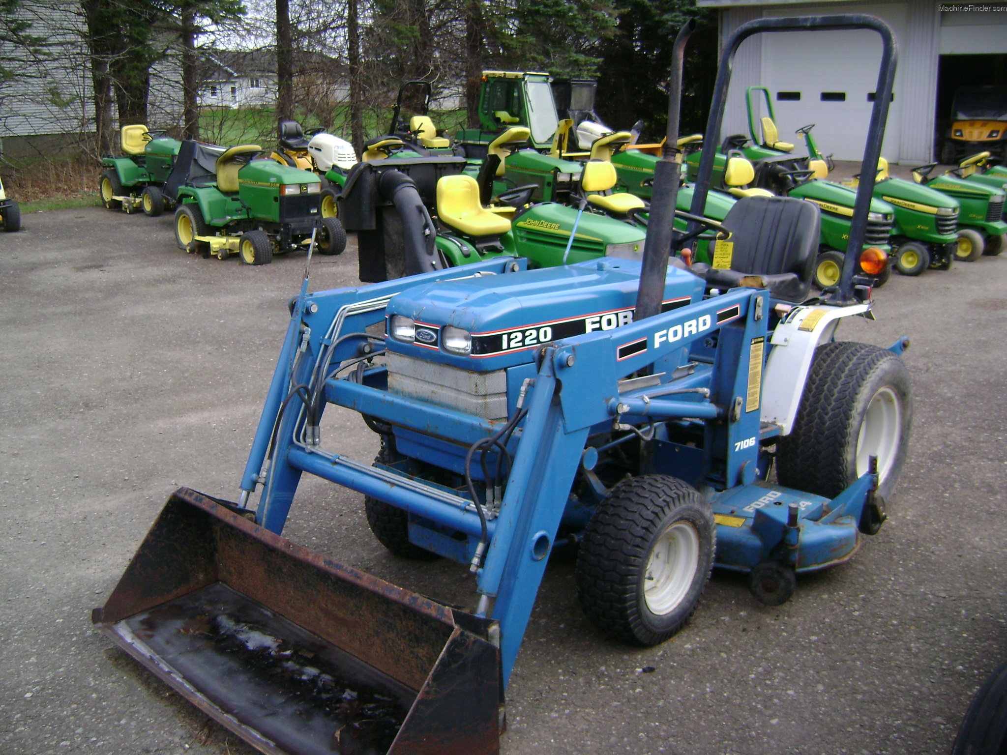 6100 Ford Tractor : Ford tractors compact hp john deere