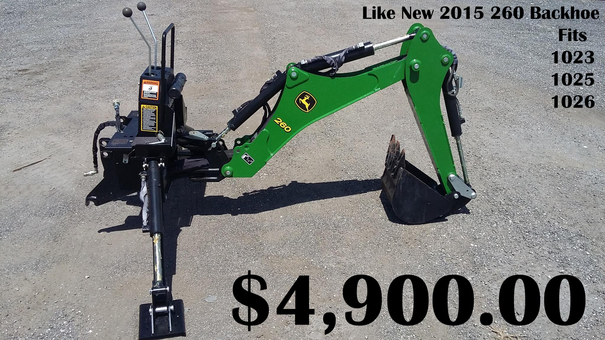 2015 John Deere 260 - Miscellaneous Tractor Attachments - John Deere  MachineFinder