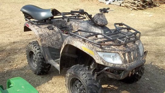 2007 Arctic Cat 650