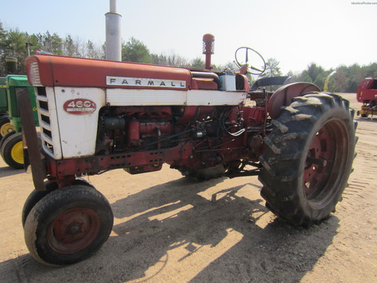 Ih 460 Utility Tractor : International harvester tractors utility