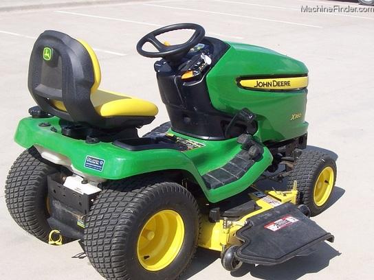 Garden Tractor Hydraulic Implement Lift : John deere quot lawn tractor with power steering