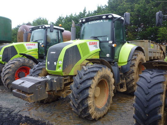 2009 Claas AXION 820