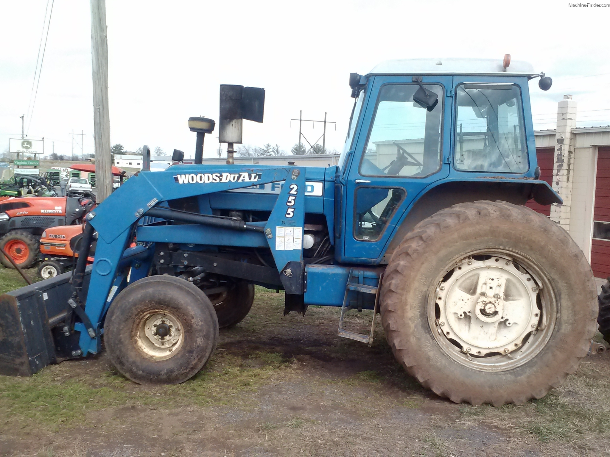 Ford 8700 Tractor : Ford tractor parts