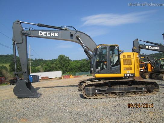 John Deere 245 Excavator Specs : John deere g excavators machinefinder