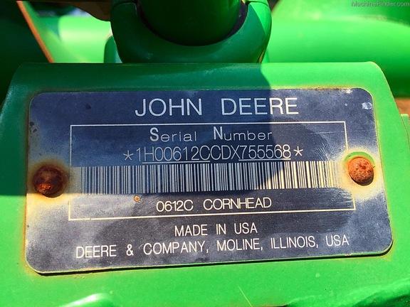2013 John Deere 612C