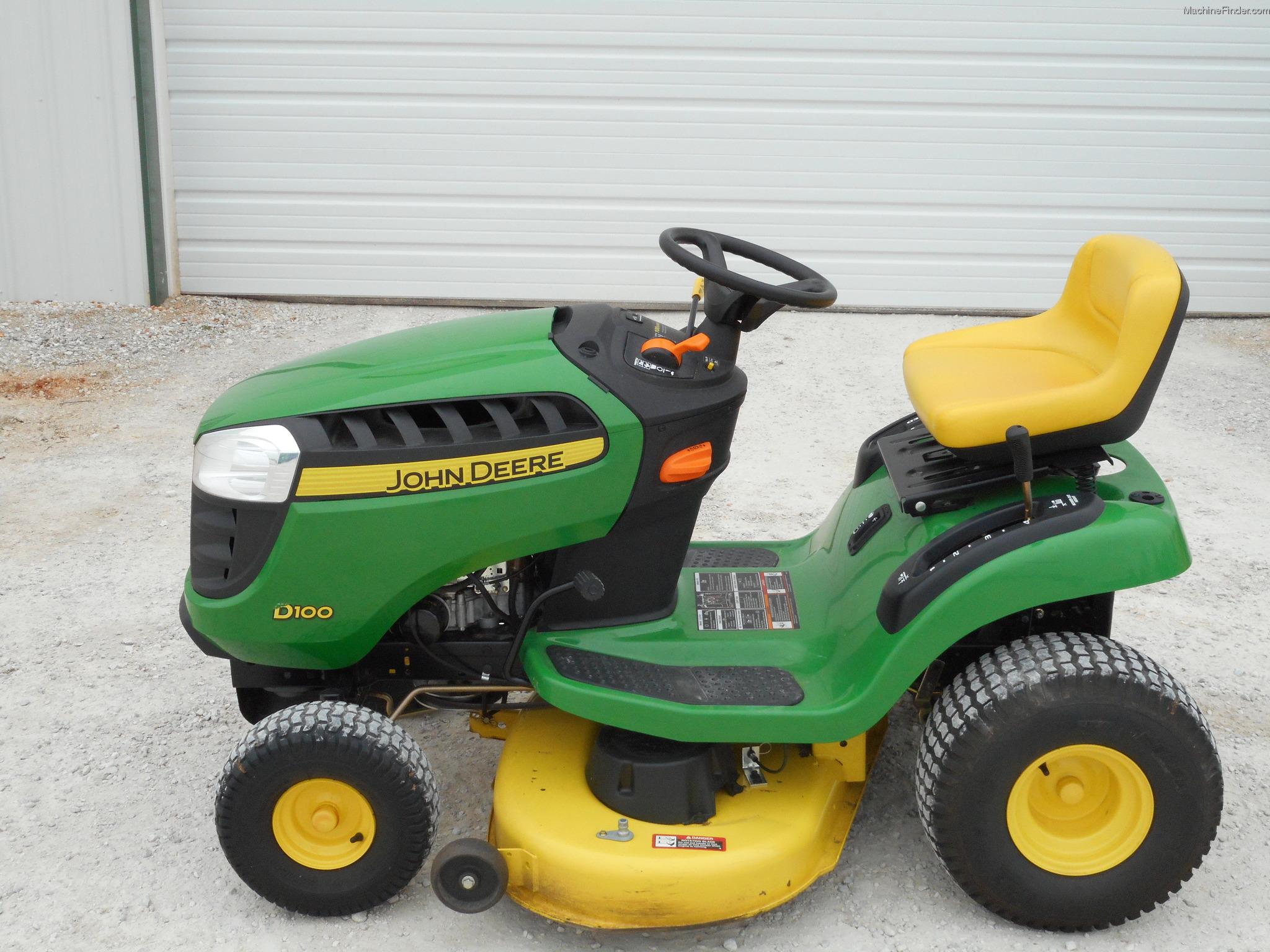 2011 John Deere D100 Lawn Amp Garden And Commercial Mowing