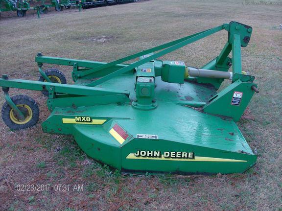 2001 John Deere MX8 - Rotary Cutters: Medium-Duty - Loris, SC