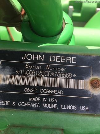 2014 John Deere 612C