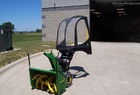 1993 John Deere TRS32 Snowblower with Electric Start and Walking Cab