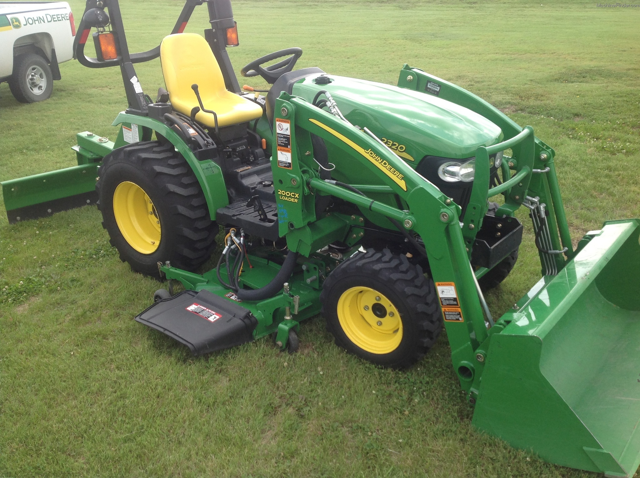 2008 john deere 2320 tractors compact 1 40hp john. Black Bedroom Furniture Sets. Home Design Ideas