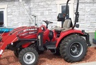 2010 Case IH Farmall 31 with L340 loader, cab, quick-hitch, tire chains, mid-pto