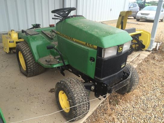 John Deere 455 Mower Parts : John deere lawn garden tractors
