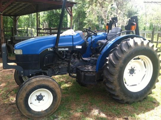 2002 New Holland TN75 Tractors - Utility (40-100hp) - John Deere MachineFinder