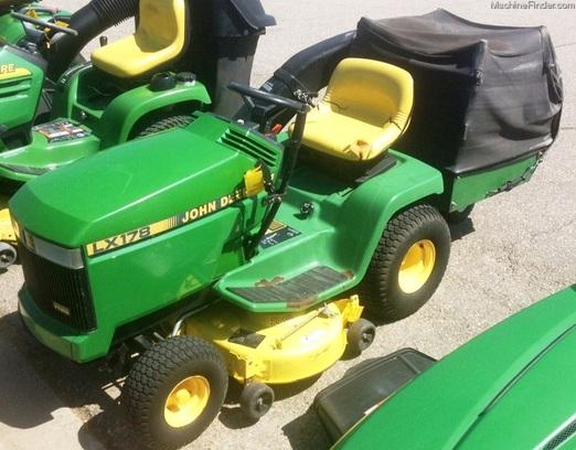 John Deere 178 Lawn Tractor : John deere lx lawn garden tractors