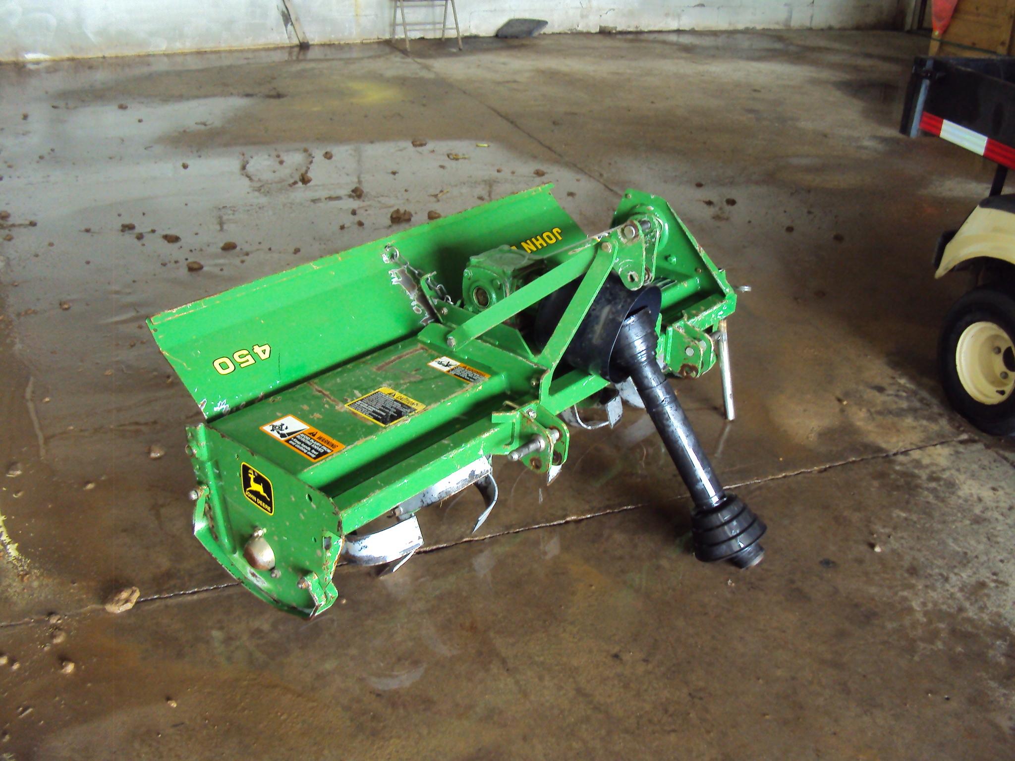John Deere Garden Tiller : John deere rototillers for lawn garden tractors