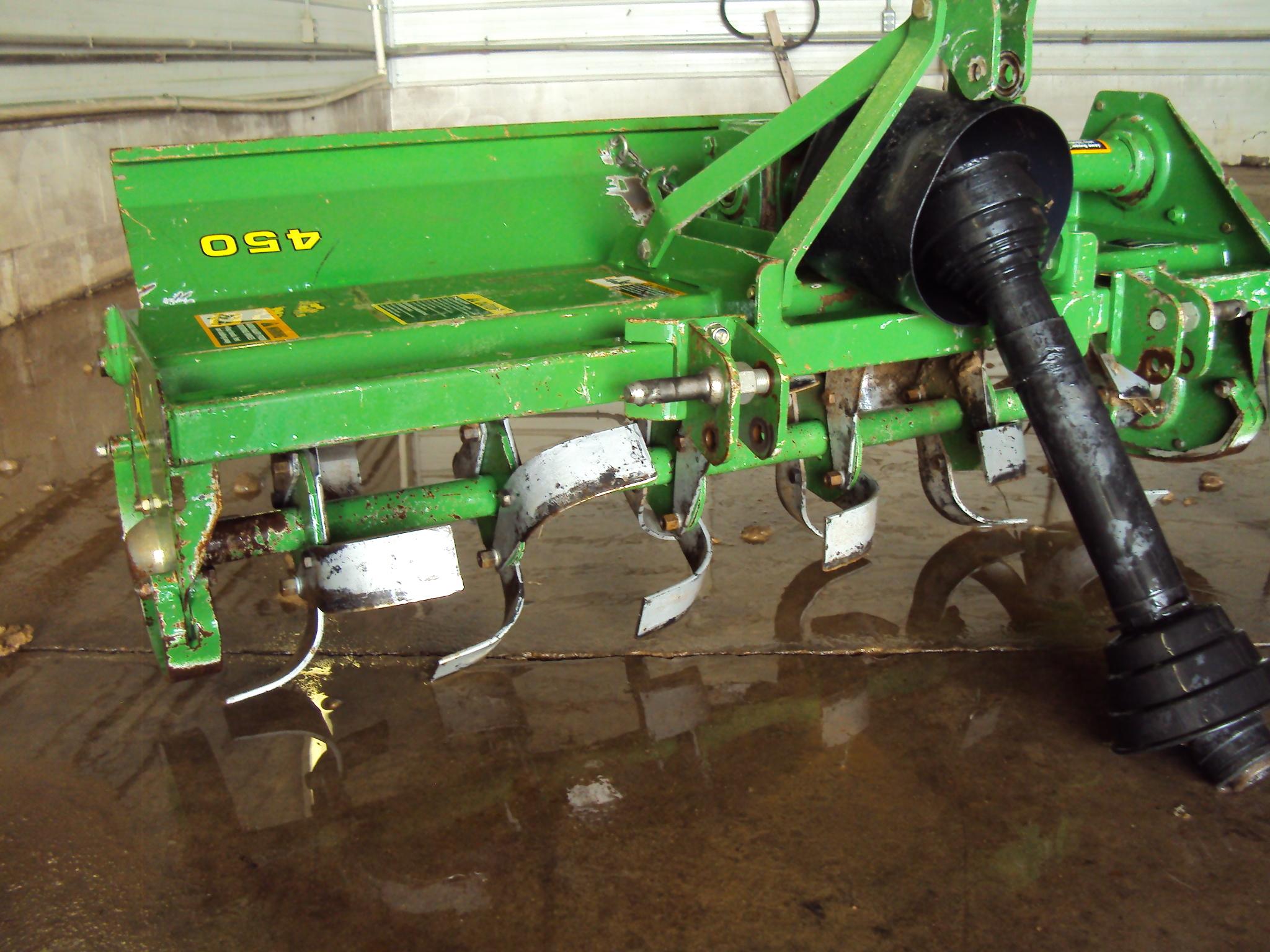 John Deere 450 Rototillers For Lawn Garden Tractors For Sale 48385