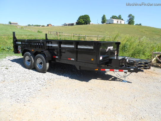 2012 Homesteader HOMERSTEADER 16ft DUMP TRAILER WITH ELECTRIC DUMP